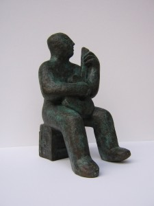 A Sculpture by Simon Manby Inspired by James Rippingale's Recital at Mayfields Music Society
